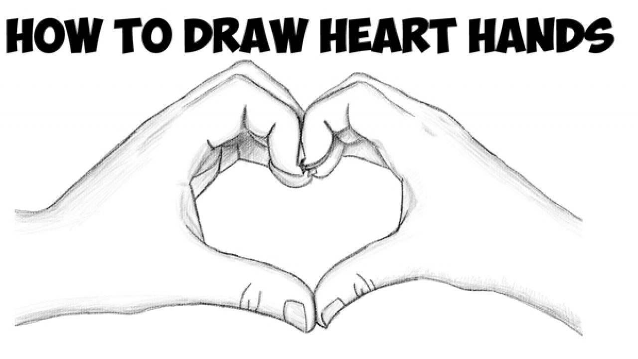 How To Draw Heart Hands In Easy To Follow Step By Step Drawing Tutorial For Beginners And Intermediates How To Draw Step By Step Drawing Tutorials