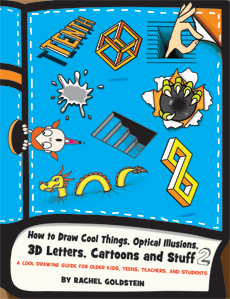 Drawing Book for Kids : How to Draw Cool Stuff & Things & Optical Illusions 2