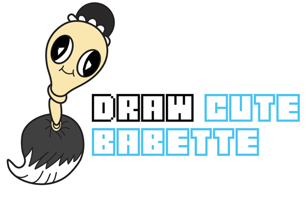 How to Draw Babette (Cute Chibi / Kawaii) from Beauty and the Beast Easy Step by Step Drawing Tutorial for Kids