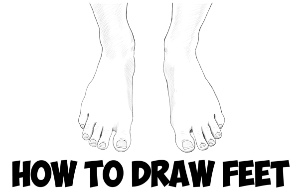 How to draw feet the human foot with easy step by step drawing tutorial for beginners how to draw step by step drawing tutorials