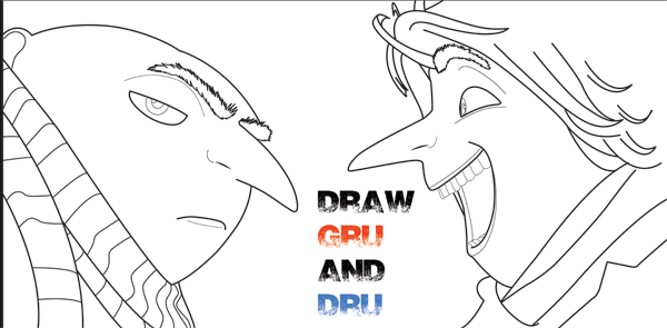 Despicable Me Archives  How to Draw Step by Step Drawing Tutorials