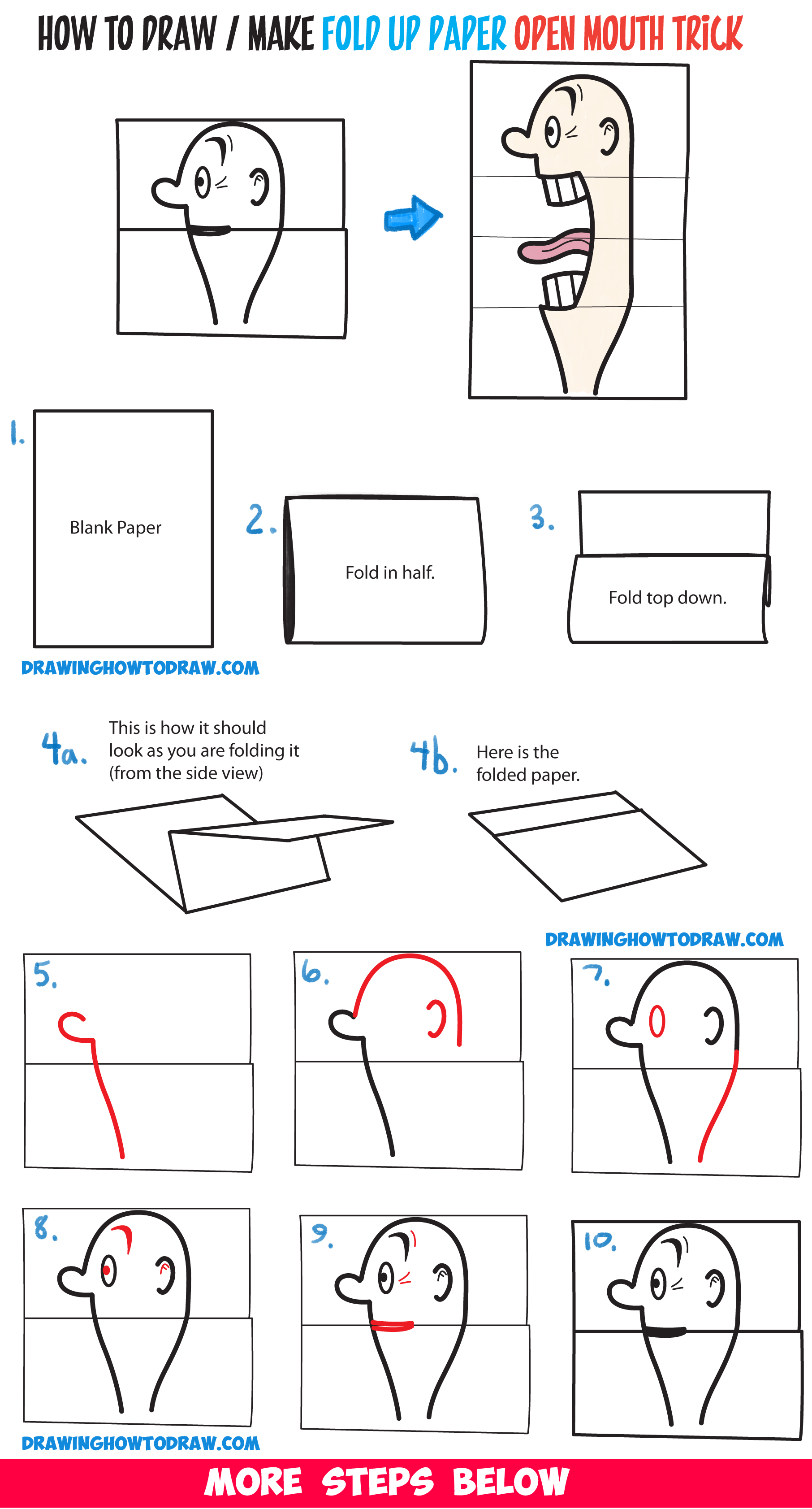 Here are the steps I went through to make my Pinwheel Fold Card. | 3366x1812