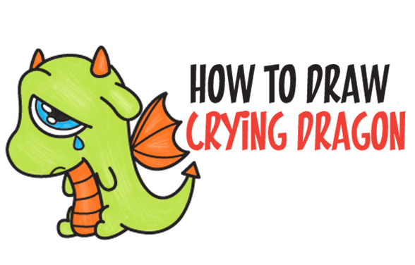 Kawaii Dragon Archives How To Draw Step By Step Drawing Tutorials