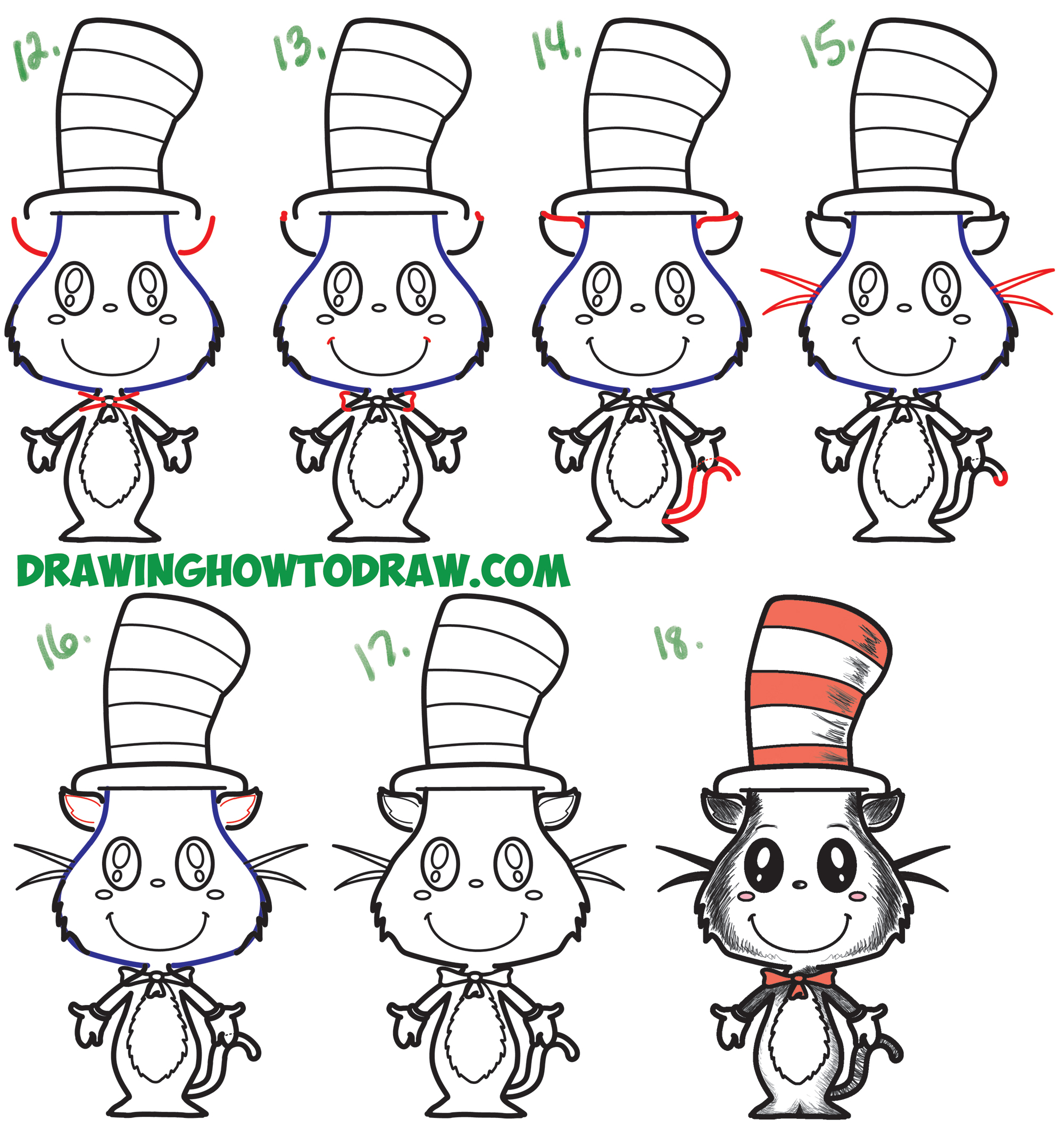 Cat In The Hat Tutorial