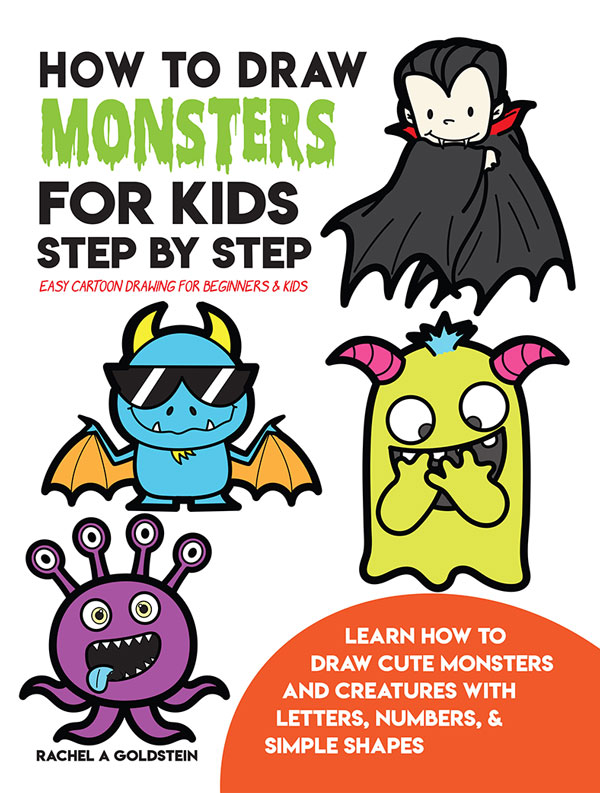 Drawing Monsters Book for Kids