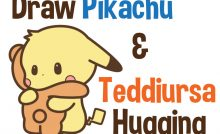Step by Step Drawing Lesson : How to Draw Pikachu from