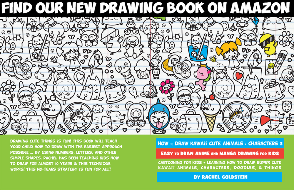 how to draw kawaii and cute chibi characters book