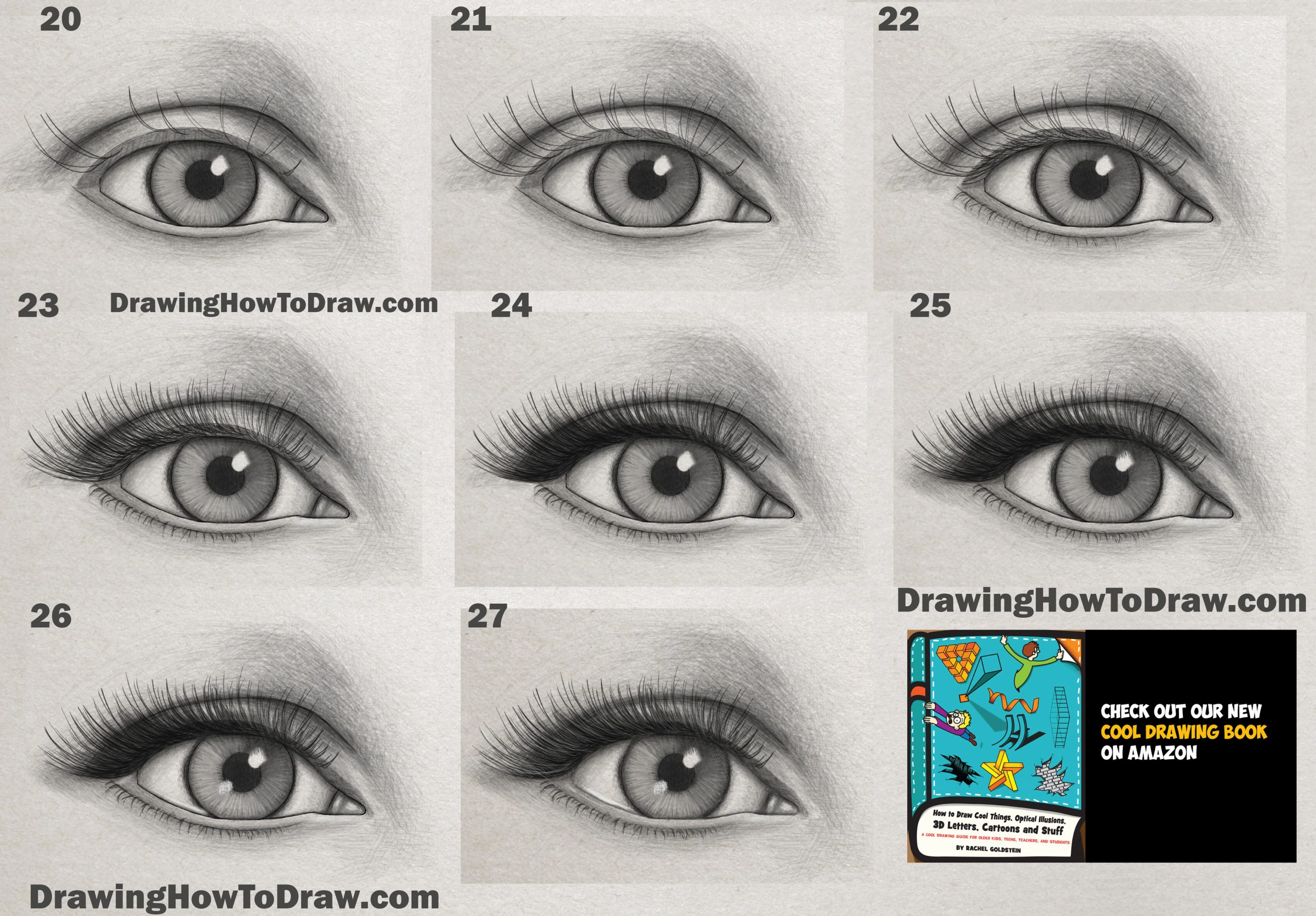 How to Draw a Realistic Eye Easy Step by Step Lesson