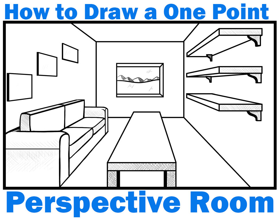 Perspective Drawing Archives How To Draw Step By Step Drawing Tutorials