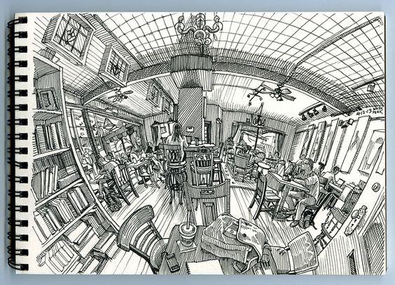 Cool sketchbook ideas inspiration
