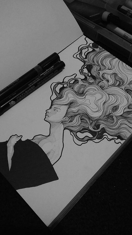 creative illustration sketchbooks inspiration Coretan