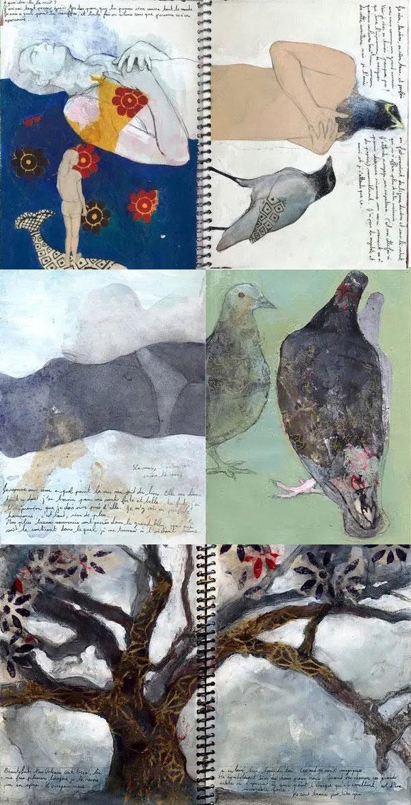 Tifenn Python sketchbook inspiration