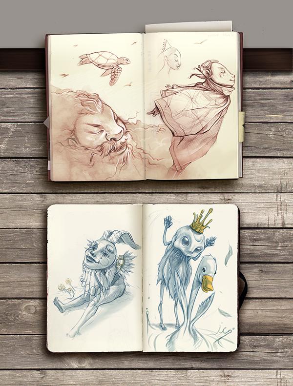 GIOVANNI MAISTO beautiful cool sketchbooks