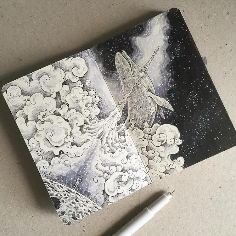 art journal inspiration Kerby Rosanes