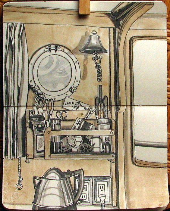 cool sketchbook art