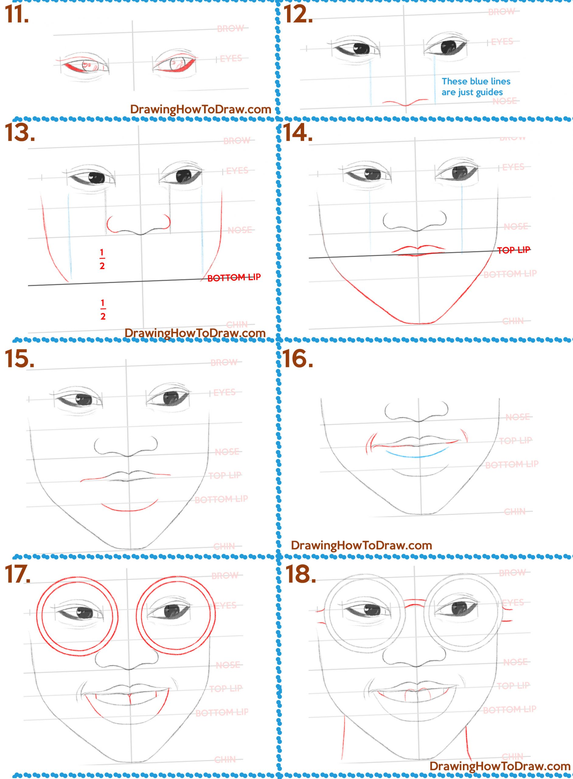 how to draw a beautiful black woman or girl's face easy steps