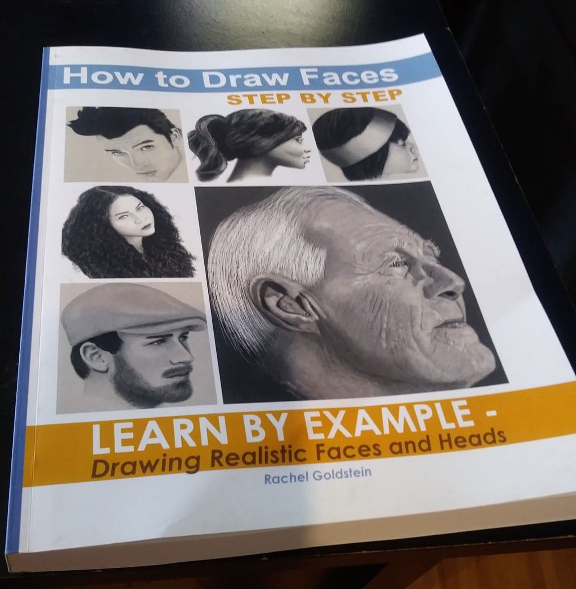 drawing faces - how to draw faces step by step book