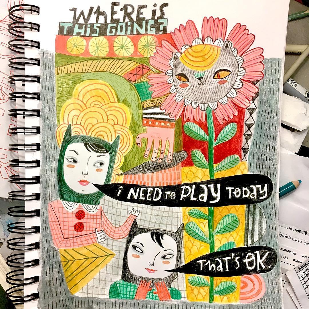 Lauren Minco beautiful inspirational sketchbooks