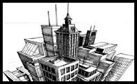 The Basics of Three-Point Perspective