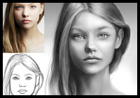 How to Digitally Paint Faces With Incredible Likeness