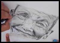 How to Draw a Realistic Old Man