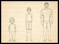 Cartoon Fundamentals : Drawing Children