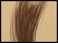 How to Draw Hair | 03 | Hair Flow and Texture