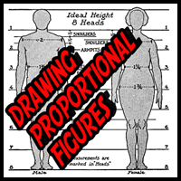 Huge Guide to Drawing Human Proportions without a Model