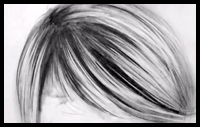 How To Draw Realistic Hair : 3 Easy Steps [Video]