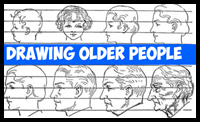 How to Draw Elderly People and Their Wrinkles