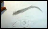 Here is a video that will help you draw the eye brows.