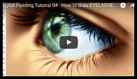 How to Draw realistic eyelashes in Photoshop