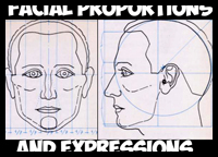 How to Draw the Human Head in the Right Proportions and Measurements