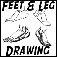 How to Draw Human Legs and Feet Drawing Article