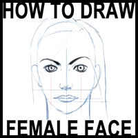 Drawing the Female Head in the Correct Proportions