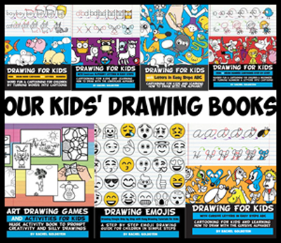 our drawing books for kids - Drawing Books For Kids