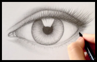 How to Draw Eye Lashes [Video]