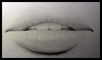 How to Draw the Mouth & Lips (Narrated Step by Step) [Video]