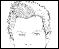 How To Draw Hair And The Human Face Drawing Tutorials Drawing