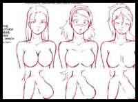 A guide to drawing boobs by someone who doesn't have them... but a whole lot of experience drawing them.