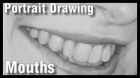 Portrait Drawing Class : Mouths