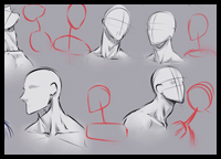 How to Go About Drawing Necks