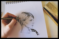 Learn to Sketch Better Portraits With Just 3 Simple Tips