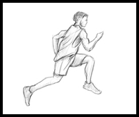 Draw Action Drawing Figures People Running Walking Jumping