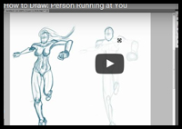 How to Draw a Realistic Picture of a Person Running