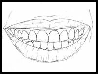 This Childhood Shortcut Will Show You How to Draw Teeth