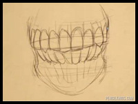 How to Draw a Mouth | 04 | Drawing Teeth
